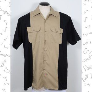 Dickie's Industrial Color Block Short Sleeve Shirt
